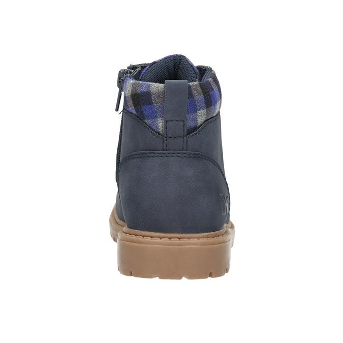 Zimowe niebieskie obuwie dziecięce weinbrenner-junior, niebieski, 411-9607 - 17