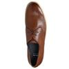 Skórzane półbuty na nieformalnej podeszwie bata, brązowy, 826-3412 - 26