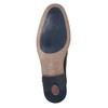 Nieformalne skórzane półbuty bugatti, czarny, 824-6007 - 17