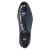 Skórzane półbuty męskie typu angielki bata, niebieski, 826-9682 - 26