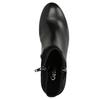 Skórzane botki gabor, czarny, 716-6028 - 26