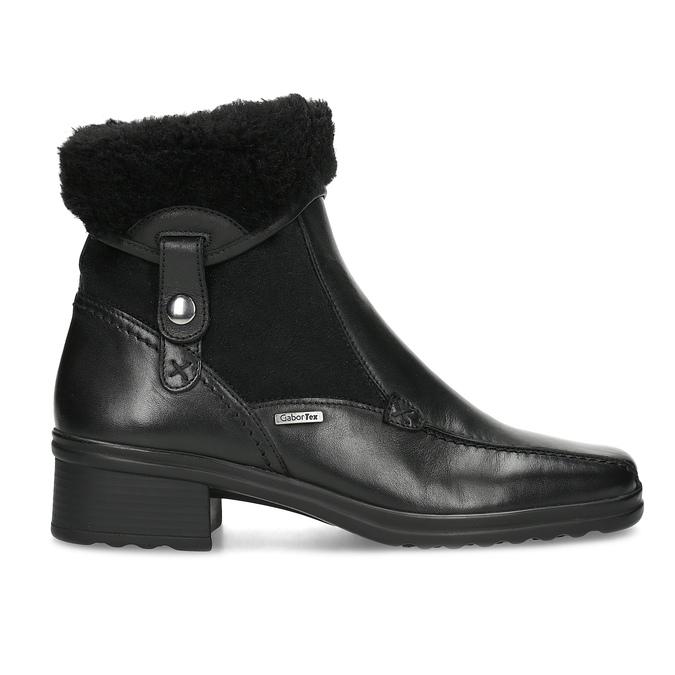 Zimowe buty damskie gabor, czarny, 614-6127 - 19