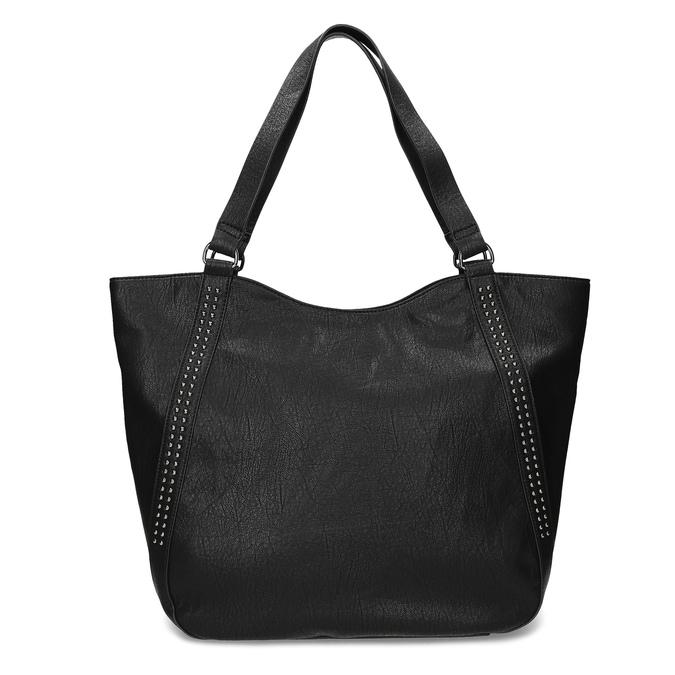 Czarna torebka damska zpasami bata, czarny, 961-6787 - 26