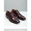 Skórzane półbuty męskie typu oksfordy bata, czerwony, 826-5683 - 18
