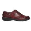 Skórzane półbuty damskie bata, czerwony, 526-5640 - 15