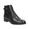 Buty ze skóry za kostkę ze zdobieniem clarks, czarny, 614-6027 - 13