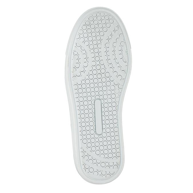 Dziecięce buty ze skóry za kostkę bullboxer, szary, 494-8023 - 17