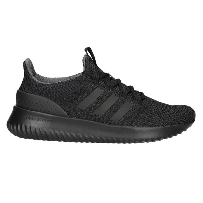 Czarne trampki męskie adidas, czarny, 809-6204 - 26