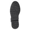 Buty skórzane za kostkę dla dzieci, czarny, 496-9015 - 17