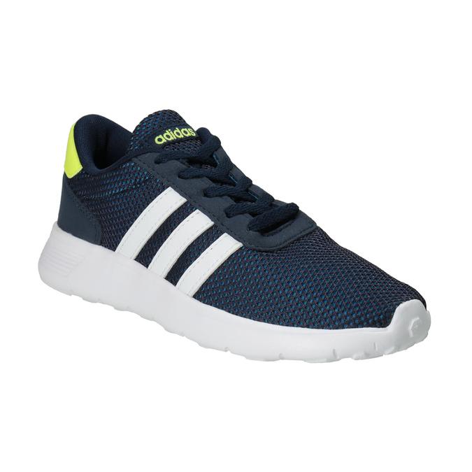 Niebieskie trampki dziecięce adidas, niebieski, 309-9288 - 13