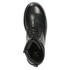 Sznurowane buty dziecięce mini-b, czarny, 391-6407 - 15