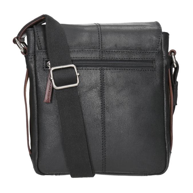 Skórzana torba męska typu crossbody bugatti-bags, czarny, 964-6027 - 16