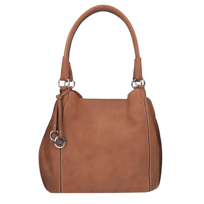 Brązowa torebka damska gabor-bags, brązowy, 961-3049 - 26