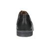 Skórzane półbuty męskie typu angielki bata, czarny, 824-6926 - 17