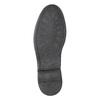 Skórzane półbuty męskie typu angielki bata, czarny, 824-6926 - 19