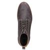 Skórzane buty męskie za kostkę bata, brązowy, 846-4652 - 15