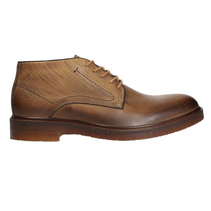Skórzane obuwie męskie typu chukka bata, brązowy, 826-2919 - 26
