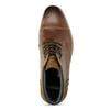Skórzane buty męskie za kostkę bata, brązowy, 826-3611 - 17