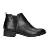 Botki damskie bata, czarny, 591-6619 - 15