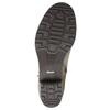 Skórzane botki zklamrami bata, szary, 696-2621 - 26