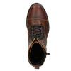 Botki damskie zzamkami błyskawicznymi bata, brązowy, 596-3681 - 15