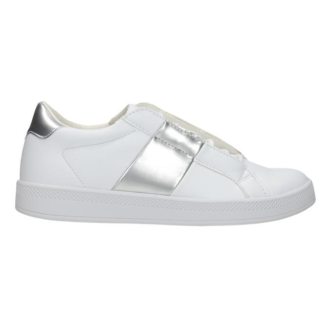 Damskie białe trampki, biały, 501-1171 - 26