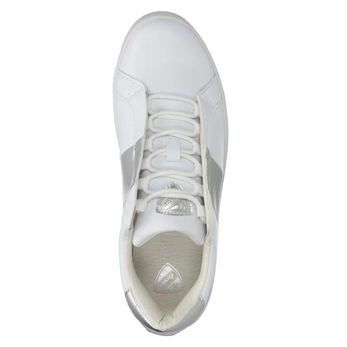 Damskie białe trampki, biały, 501-1171 - 15