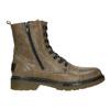 Skórzane botki damskie bata, brązowy, 596-7681 - 26