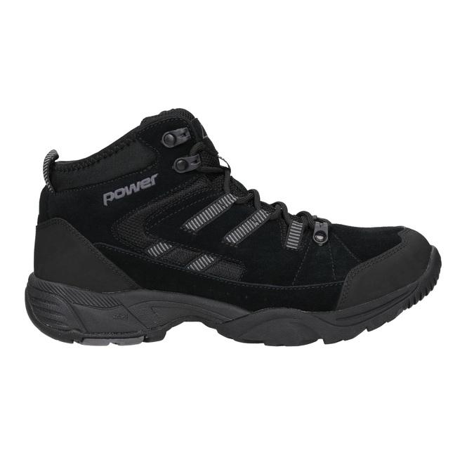 Męskie buty za kostkę wstylu outdoor power, czarny, 803-6232 - 26
