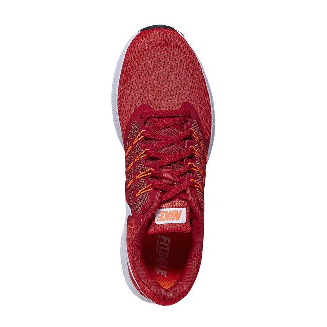 Czerwone trampki męskie nike, czerwony, 809-5120 - 19