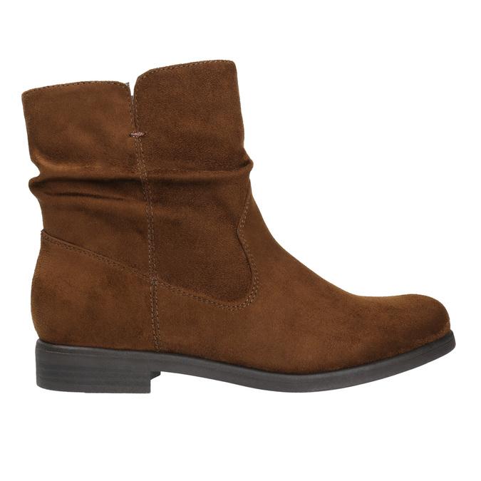 Botki damskie bata, brązowy, 599-3614 - 15