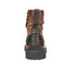 Skórzane obuwie za kostkę bata, brązowy, 896-3663 - 16