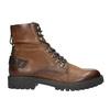 Skórzane obuwie za kostkę bata, brązowy, 896-3663 - 15