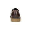 Brązowe półbuty ze skóry bata, brązowy, 826-4620 - 17