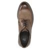 Brązowe półbuty ze skóry bata, brązowy, 826-4620 - 26