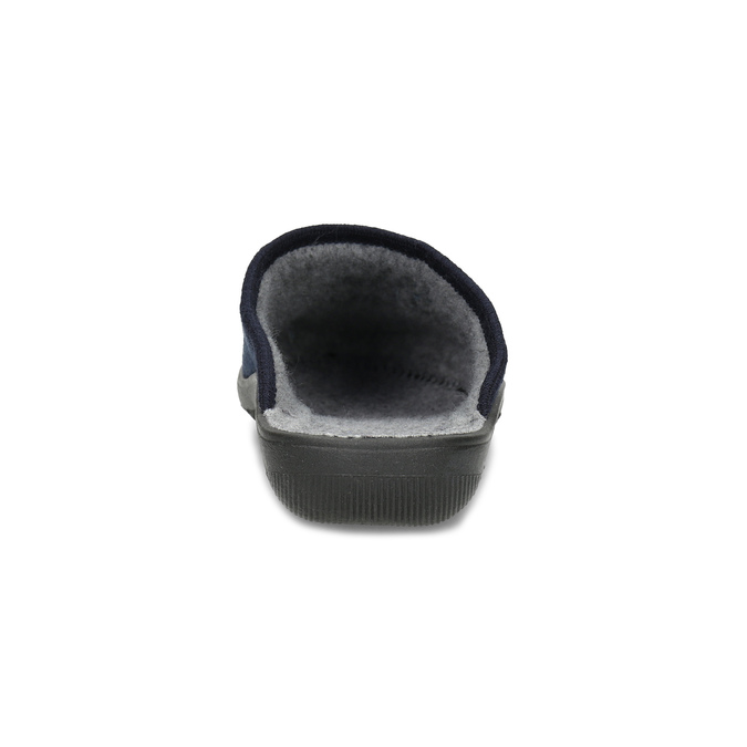 Granatowe kapcie damskie bata, niebieski, 579-9621 - 15