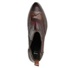 Skórzane obuwie typu chelsea ze ornamentami brogue bata, brązowy, 596-4683 - 15