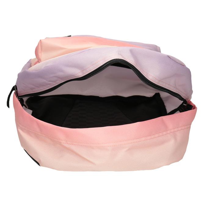 Pastelowy plecak damski zefektem ombré vans, czerwony, 969-5079 - 15