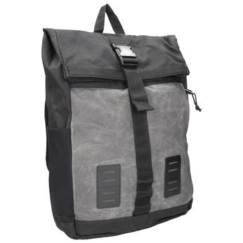 Szary plecak unisex zklamrą vans, szary, 969-2095 - 13