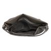 Skórzana torebka damska wstylu hobo, zpaskiem gabor-bags, brązowy, 961-8029 - 15