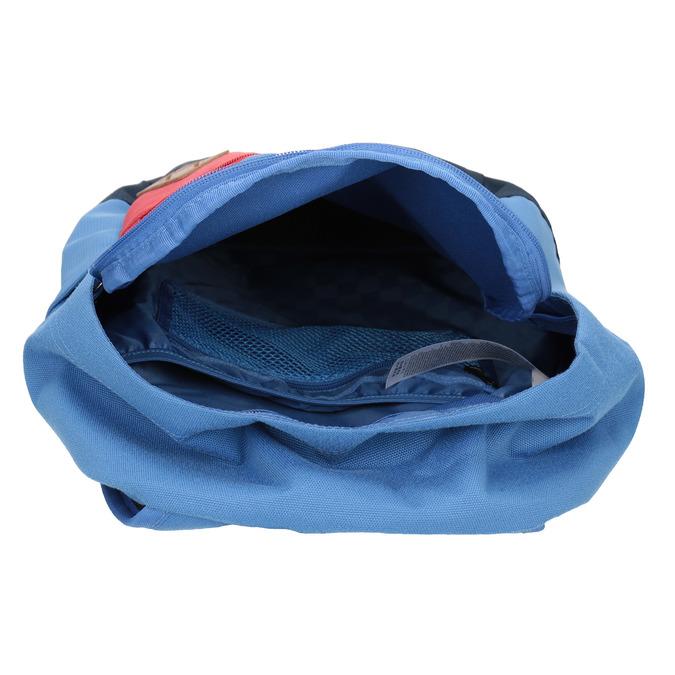 Niebieski plecak zczerwoną kieszenią vans, niebieski, 969-9095 - 15