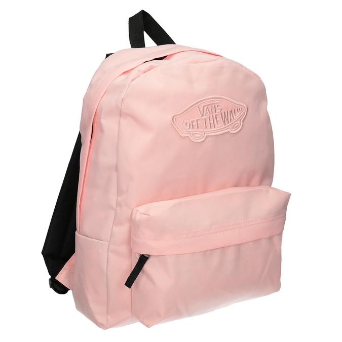 Różowy plecak damski vans, czerwony, 969-5083 - 13