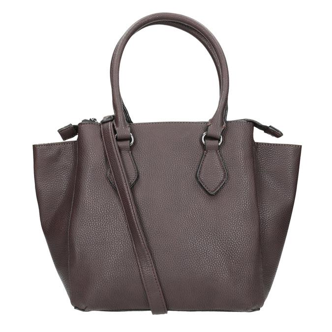 Brązowa torebka damska zpaskiem gabor-bags, brązowy, 961-6039 - 16