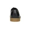 Skórzane półbuty męskie angielki bata, czarny, 826-6620 - 17
