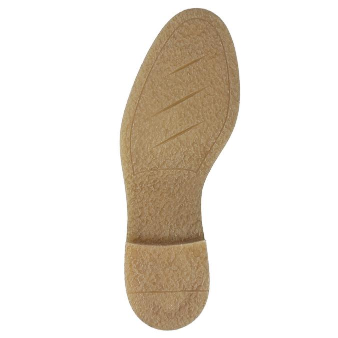 Damskie skórzane buty sznurowane bata, szary, 596-2663 - 19