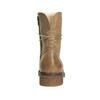 Skórzane buty sznurowane damskie bata, brązowy, 596-4663 - 16