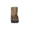Skórzane obuwie za kostkę bata, brązowy, 893-3653 - 17