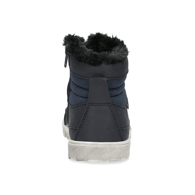 Buty dziecięce zociepliną mini-b, niebieski, 491-9652 - 15