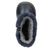 Zimowe buty dziecięce zociepliną bubblegummer, niebieski, 191-9620 - 19