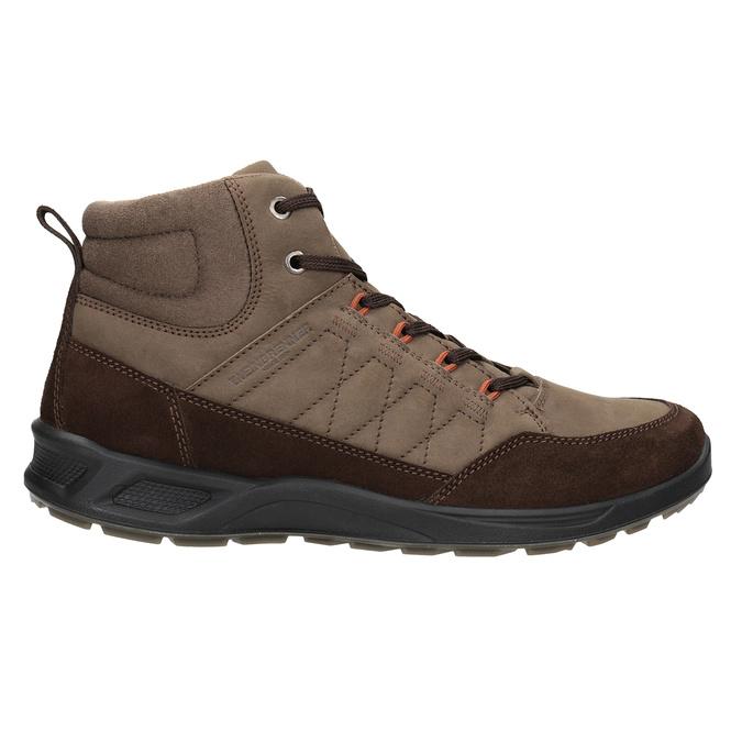 Skórzane obuwie męskie weinbrenner, brązowy, 846-4647 - 26